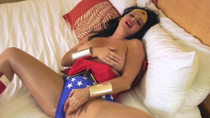 Wonder Woman, A Fetish Parody, Porn DVD, Anastasia Pierce Productions, Anastasia Pierce, Kendra James, Carissa Montgomery, All Girl, Lesbian, Bondage, Cosplay, Domination, Female Domination, Fetish, Parody, Sex Toy Play, Strap-Ons, Superhero, Bondage Lesbian Sex, Dramatic Stories