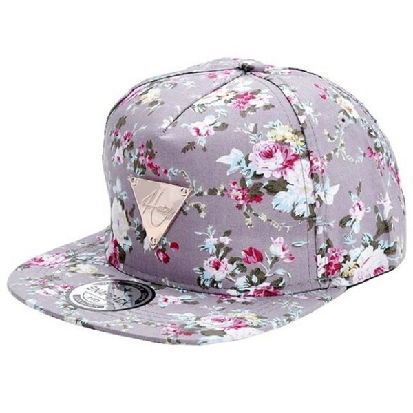 Men Women Baseball Cap Hip Hop Caps Floral Style 20