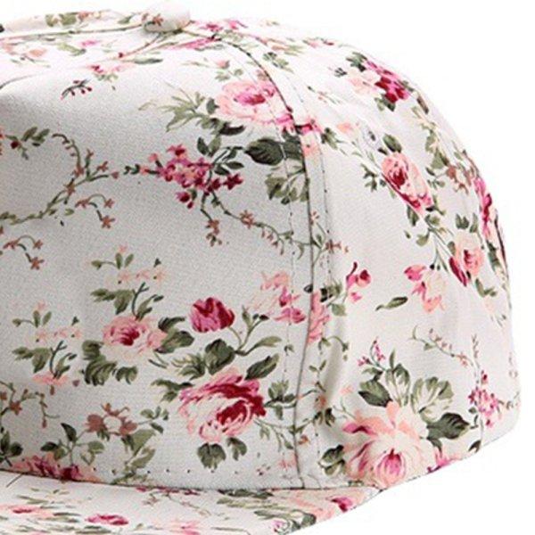 Men Women Baseball Cap Hip Hop Caps Floral Style 12