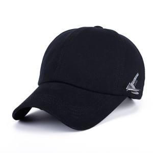 7dd25c698f3 Solid Baseball Cap Men