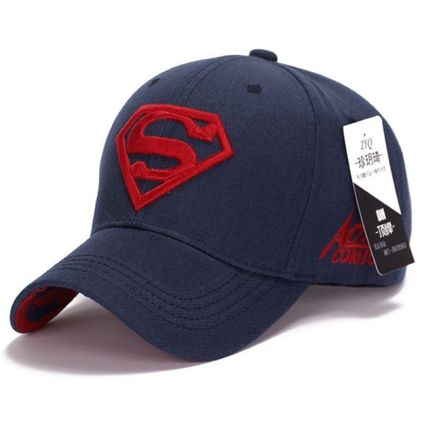 Gorras Superman Cap Casquette Superman Baseball Cap Men Brand Women Bone Diamond Snapback For Adult Trucker Hat 8