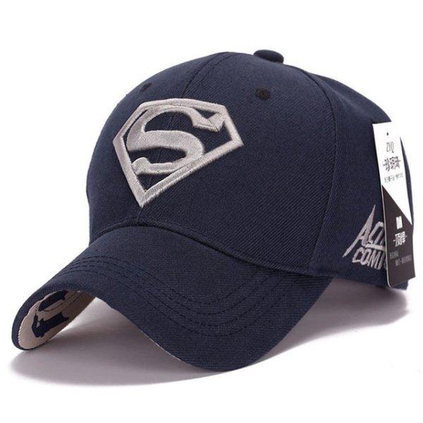 Gorras Superman Cap Casquette Superman Baseball Cap Men Brand Women Bone Diamond Snapback For Adult Trucker Hat 22