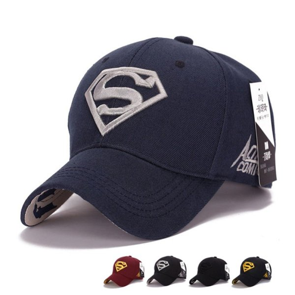 Gorras Superman Cap Casquette Superman Baseball Cap Men Brand Women Bone Diamond Snapback For Adult Trucker Hat 2
