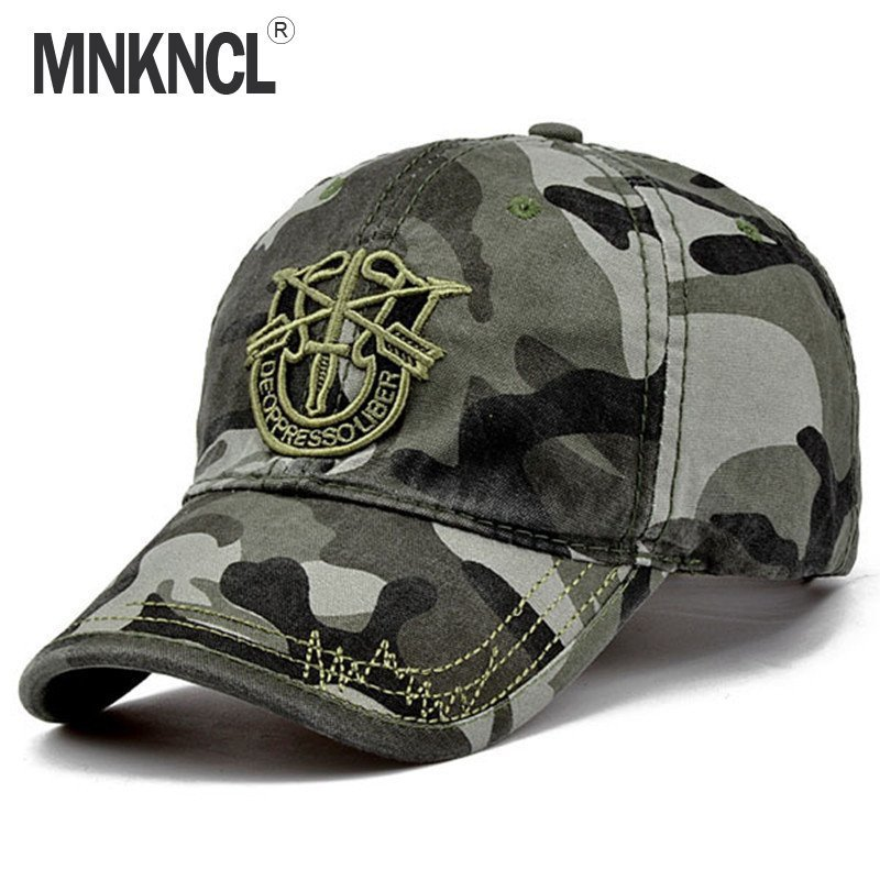 36517b73899 2017 New Brand Fashion Army Camo Baseball Cap Men Women Tactical Sun Hat  Letter Adjustable Camouflage ...