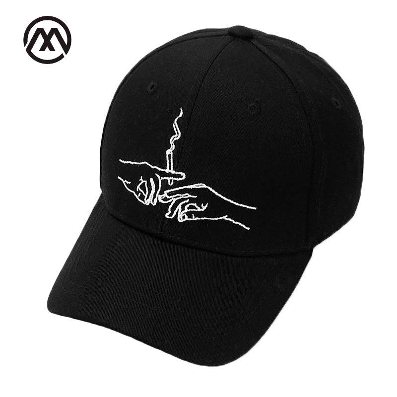 9377b1265d5 2017 New Brand Smoke Baseball Cap Dad Hat For Men Women Embroidery ...