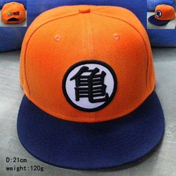 New High Quality Anime Dragon Ball Z /Dragonball Goku Snapback Hat For Men Women Adjustable Hip Hip Baseball Cap Cool 16