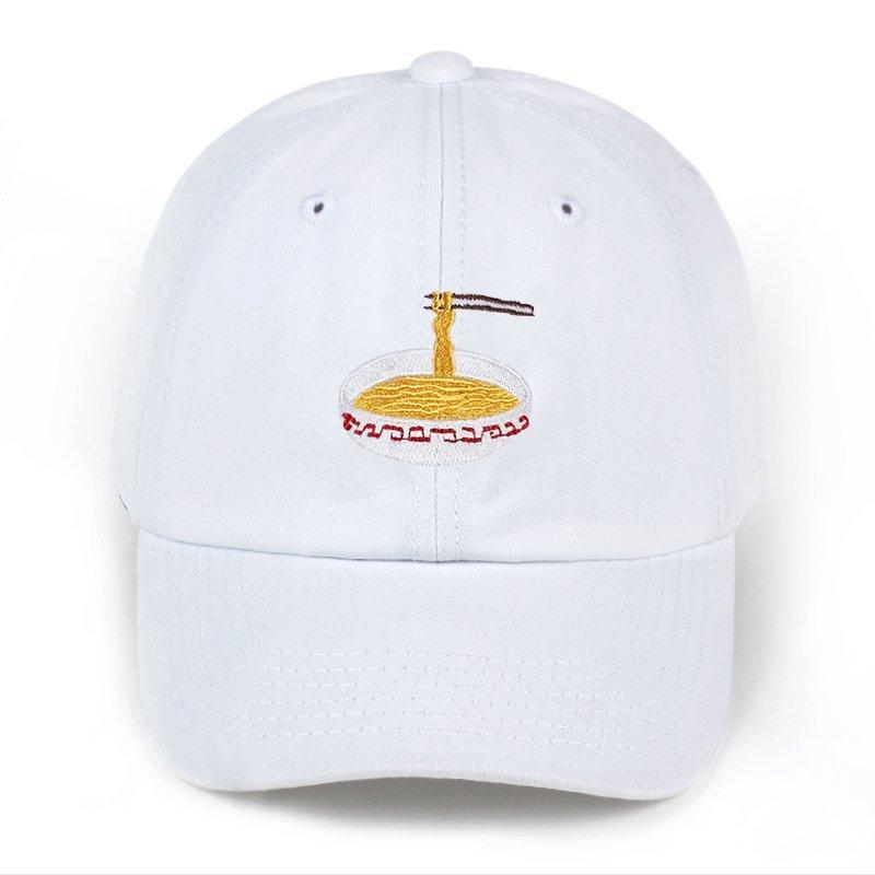 2017 New Style Adjustable Nuddles Embroidery Cotton Baseball Hat Fashion  Unisex ... bfa69f523f76