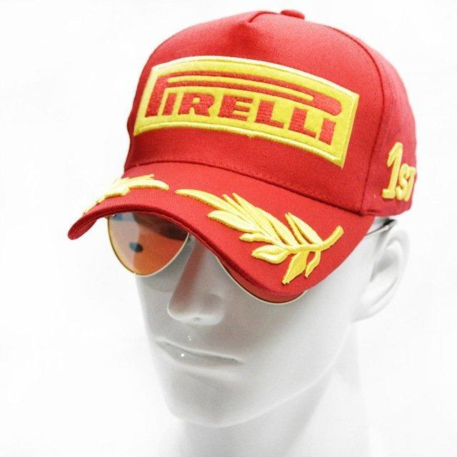 4b0f2a09338 2017 Snapback Racing Cap Baseball Cap Black F1 Style Hats For Men ...