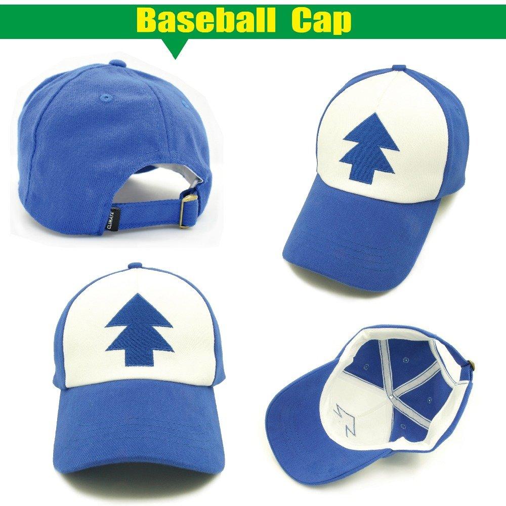 CLIMATE 2017 New Spring Summer Gravity Falls U.S Cartoon Mabel Dipper Pines  Cosplay Cool Baseball Mesh Caps Adjustable Sport Hat f6dd061d5a40