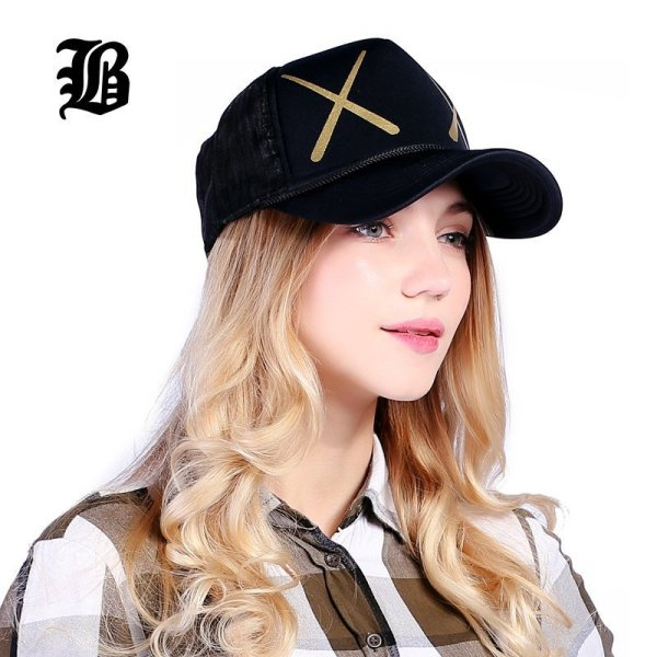 [FLB] 12 Styles Unisex Acrylic 5 panels Adjustable Baseball Cap Summer mesh caps Snapback Baseball Cap Men Fitted Hats Caps 8