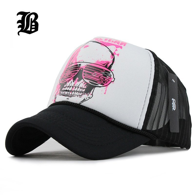 94dc8974c6 [FLB] 12 Styles 2015 Unisex Acrylic 5 panels Adjustable Baseball Cap Summer  mesh caps Snapback Baseball Cap Men Fitted Hats Caps