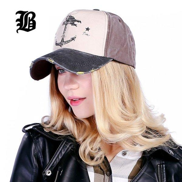 [FLB] 5 panel hip hop snapback hats couples hat Man Woman pure cotton baseball caps do old pirate ship anchor gorras wash cap 5