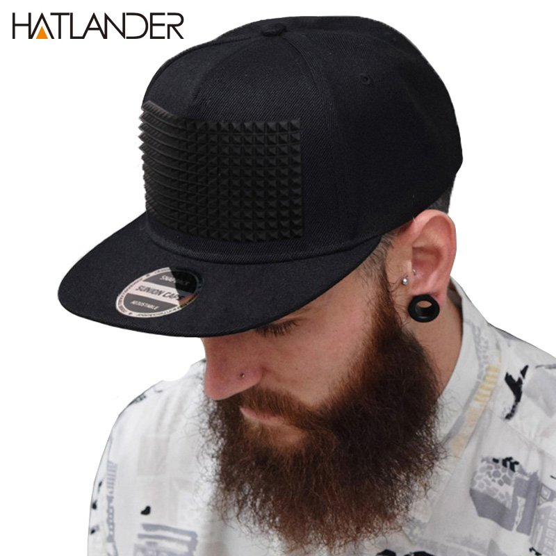 reputable site 2811c 2bd04 Fancy 3D snapback cap raised soft silicon square pyramid flat baseball hip  hop hat ...