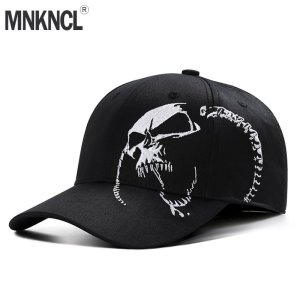 09d4589ae1a24 High Quality Unisex 100% Cotton Outdoor Baseball Cap Skull Embroidery  Snapback Fashion Sports Hats For Men   Women Cap