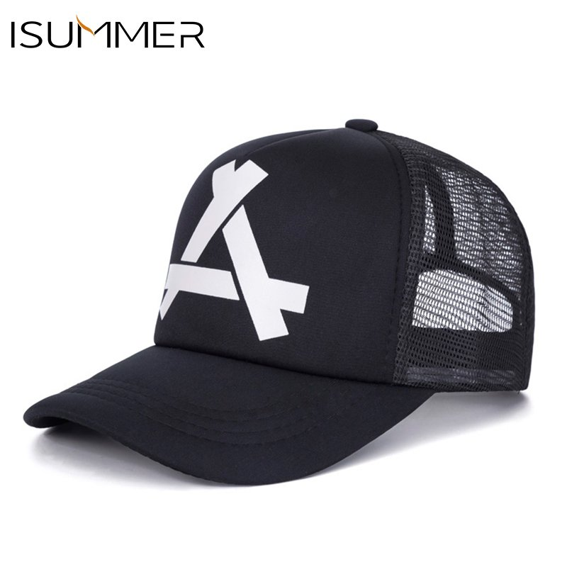 66229460024 ISUMMER 2018 Summer Baseball Mesh Cap Men Hat Hip Hop Snapback Hat ...