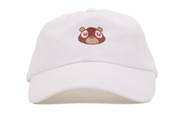 Kanye West Ye Bear Dad Hat Lovely Baseball Cap Summer For Men Women Snapback Caps Unisex Exclusive Release Hip Hop Hot Style Hat 3