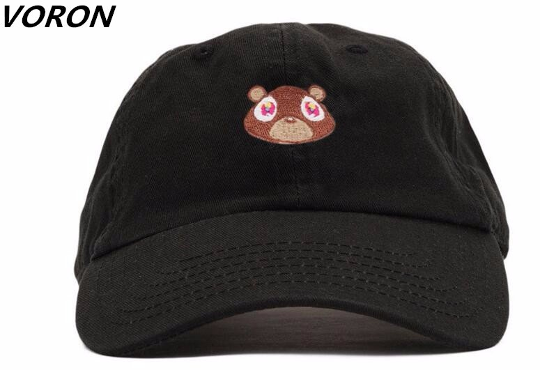 36e4e8b2 Kanye West Ye Bear Dad Hat Lovely Baseball Cap Summer For Men Women  Snapback Caps Unisex Exclusive Release Hip Hop Hot Style Hat