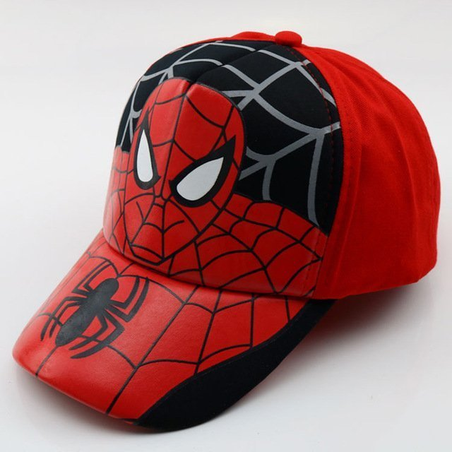 9d64d1f0656 MAITRI New Arrival Kids Baseball Cap Fashion Spider-man Boys ...