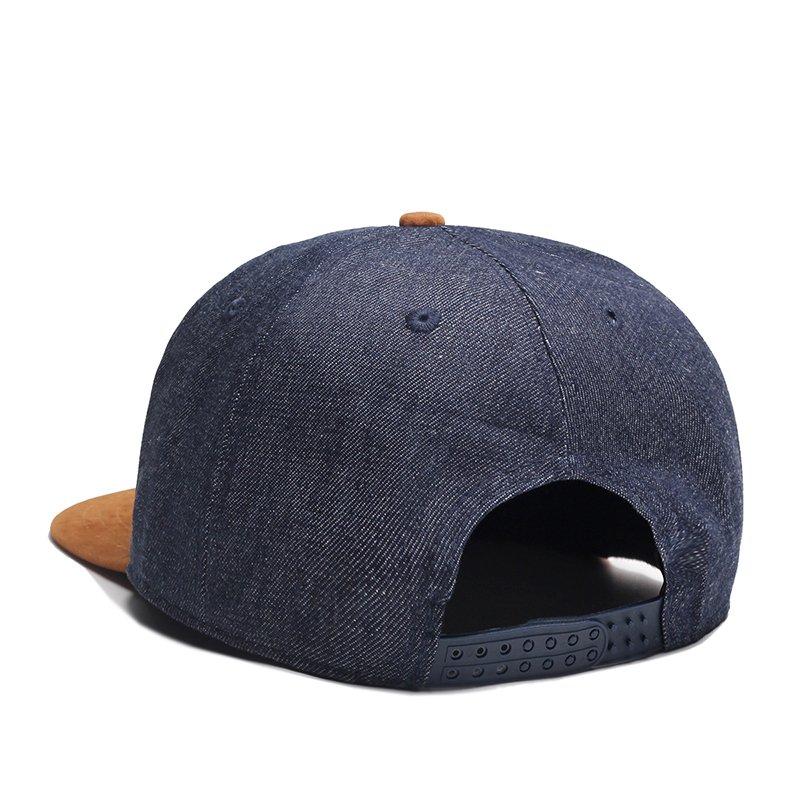 8abbf099498eff MNKNCL High Quality Snapback Cap MEGA Embroidery Brand Flat Brim ...