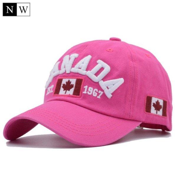 Cotton Gorras Canada Baseball Cap Flag Of Canada Hat Snapback Adjustable Mens Baseball Caps Brand Snapback Hat 12
