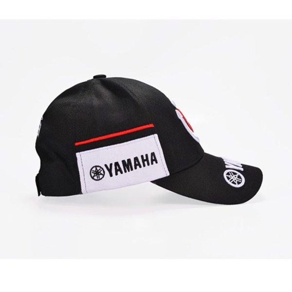 New Black Red F1 racing cap Car Motocycle Racing MOTO GP VR 99 rossi Embroidery hiphop cotton trucker Yamaha Baseball Cap Hat 4