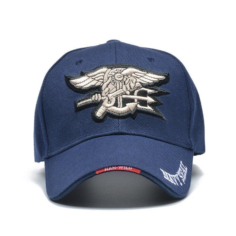 d1b761c1629 Summer Cool Male US Navy Seal Cap Air Soft Tactical Bone Gorras Baseball  Caps Army Hat Solider Casquette