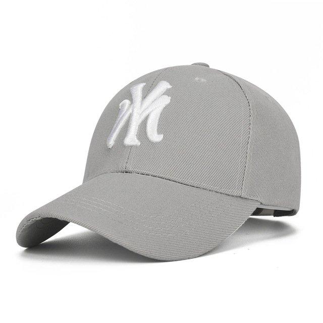 Unisex Cotton Baseball Cap NY Men Women Snapback Cool Sun Hat Letter  Adjustable Casquette Bone Cap Male ... 1c5fc118e85c