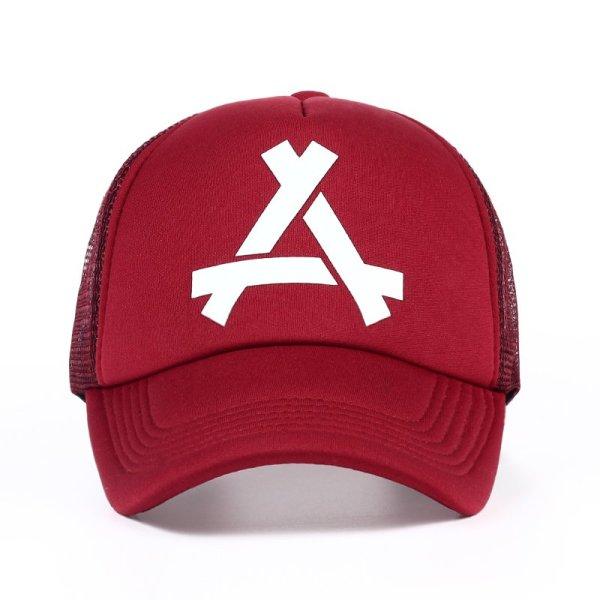 New Summer Baseball Mesh Golf Cap Cap Snapback Hat Fashionable Polo Sports Hiphop Trucker Hat God Men Women Cap 4