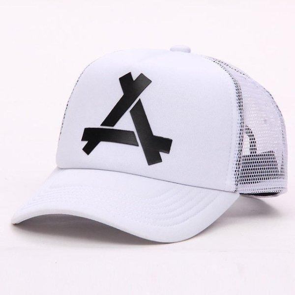 New Summer Baseball Mesh Golf Cap Cap Snapback Hat Fashionable Polo Sports Hiphop Trucker Hat God Men Women Cap 14