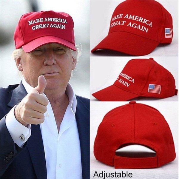 Make America Great Again Red Baseball cap GREAT PRICE DONALD TRUMP HAT 2