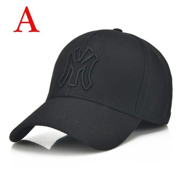 solid unisex black baseball cap men snapback hat  women cap flexfit fitted hat Closed  Male full cap  Gorras Bones trucker hat 14