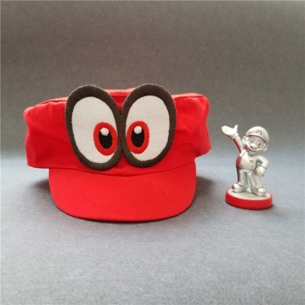 Hot NS Game Super Mario Odyssey COSPALY Hat Adult Child Anime Roleplay Cap 14