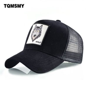 39dafffa ... 8 Kinds of embroidery animal Baseball Caps men Breathable Mesh Snapback  caps Unisex sun hat for women bone Casquette Hip Hop cap ...