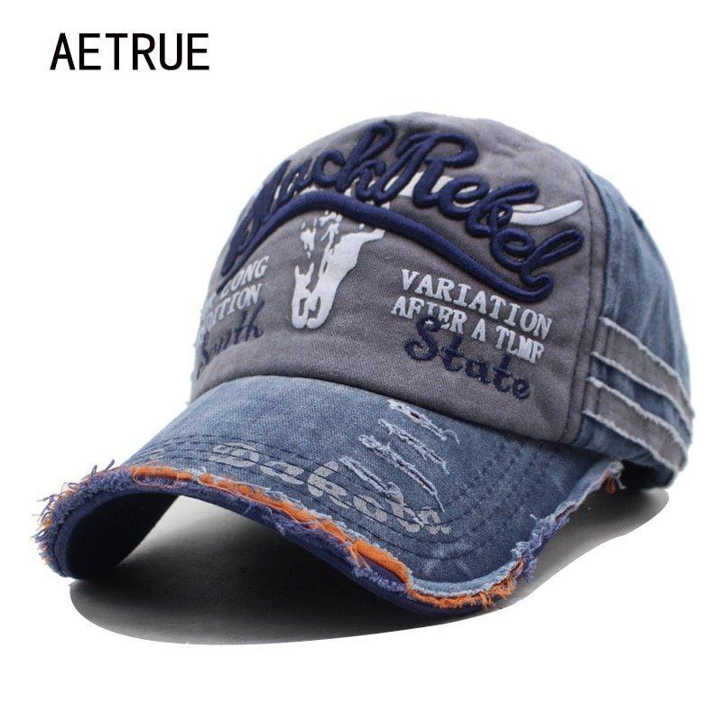 55ff91bf0a6061 AETRUE Brand Men Baseball Caps Dad Casquette Women Snapback Caps ...