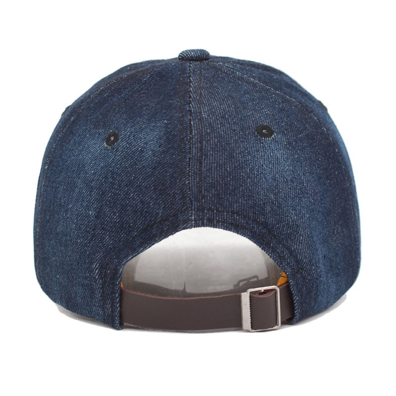 14d3479854b AETRUE Washed Jeans Baseball Cap Men Dad Snapback Hats Caps For ...