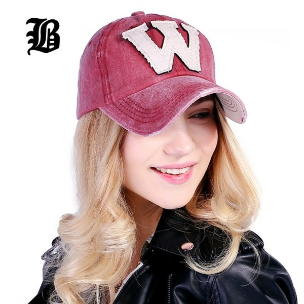 [FLB] Cotton Embroidery Letter W Baseball Cap Snapback Caps Bone casquette Hat Distressed Wearing Fitted Hat For Men Custom Hats 2