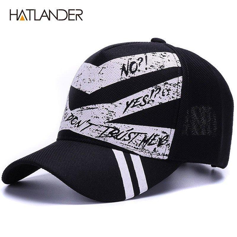 ff701305250  HATLANDER Fashion 5panel graffiti baseball caps women outdoor sports hats  men polo cap gorras summer casual running hat. Sale! 🔍. capshop.store