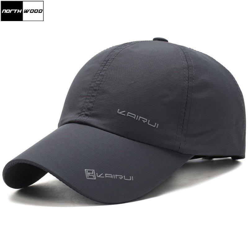67bc8088 NORTHWOOD] Solid Summer Cap Branded Baseball Cap Men Women Dad Cap ...