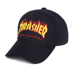 New Hot hat Fashion flame Baseball Cap Rock Style Fashion Unisex cap hats  Men Women hip hop Baseball Caps ... c81ecc5836ee