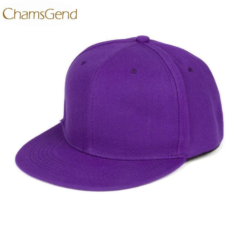 5e03b162 Newly Design Fashion Unisex Plain Snapback Hats Hip-Hop Adjustable Baseball  ...