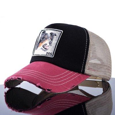 TQMSMY Unisex sun hats for men Hip Hop Hat Breathable Mesh Baseball Caps Women Embroidery panda Snapback caps Summer Gorras 11
