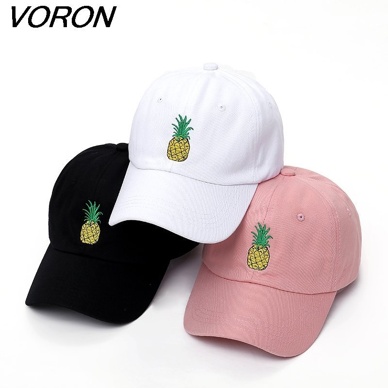 VORON men women Pineapple Dad Hat Baseball Cap Polo Style ... a1412bed6fa