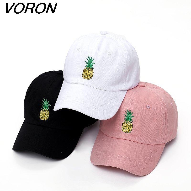 cd9cdf67ff4 VORON men women Pineapple Dad Hat Baseball Cap Polo Style ...