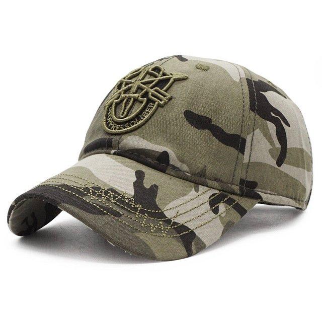 7be0b6fe 2018 New Army Cap Camo Baseball Caps Men Camouflage Snapback Hats ...