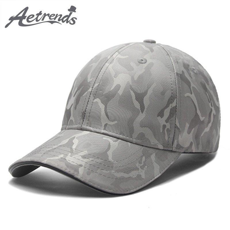 AETRENDS  2018 New Camouflage Cap Men Tactical Baseball Caps Outdoor ... 0e7e1f7f09b0