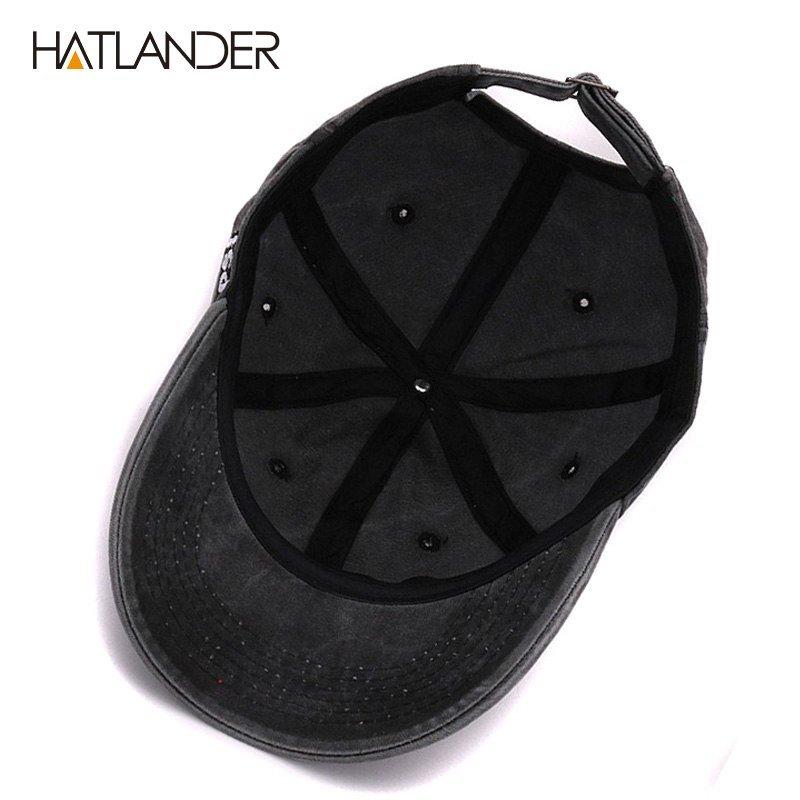 668417d315d HATLANDER 100% cotton baseball caps outdoor sports hats gorras ...