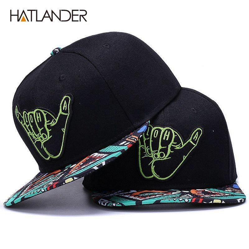 HATLANDER Brand Embroidery Retro baseball caps for men women bone ... 566019ecb53