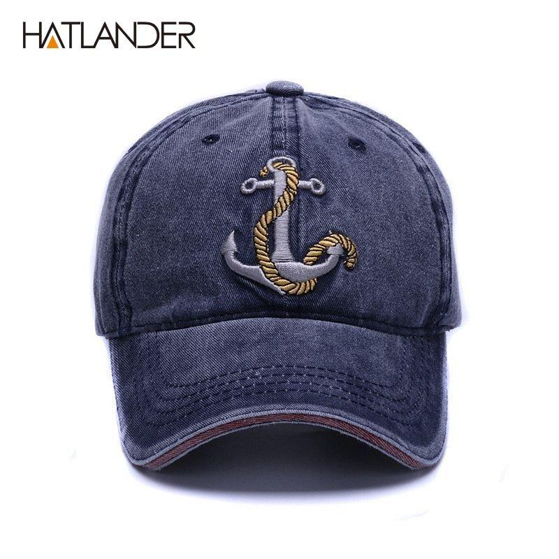 HATLANDER Brand washed soft cotton baseball cap hat for women men ... f28d1ff02c1