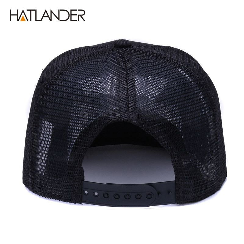 HATLANDER Original black baseball caps for boys girls summer sun ... d7deb6cf2b05