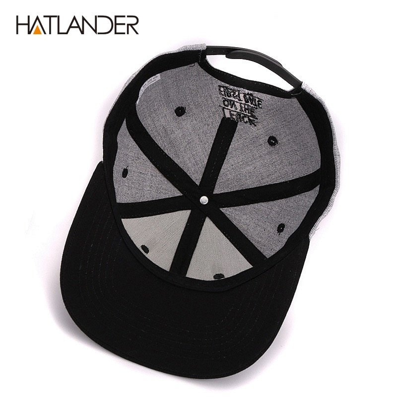 f648fdcc789 Hatlander Girls letter baseball caps bboy gorras planas outdoor ...